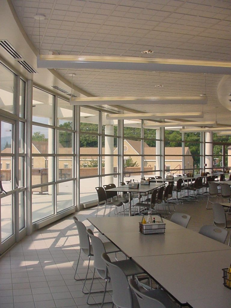 Alvernia University Student Center, Dining Area - Olsen Design Group Architects