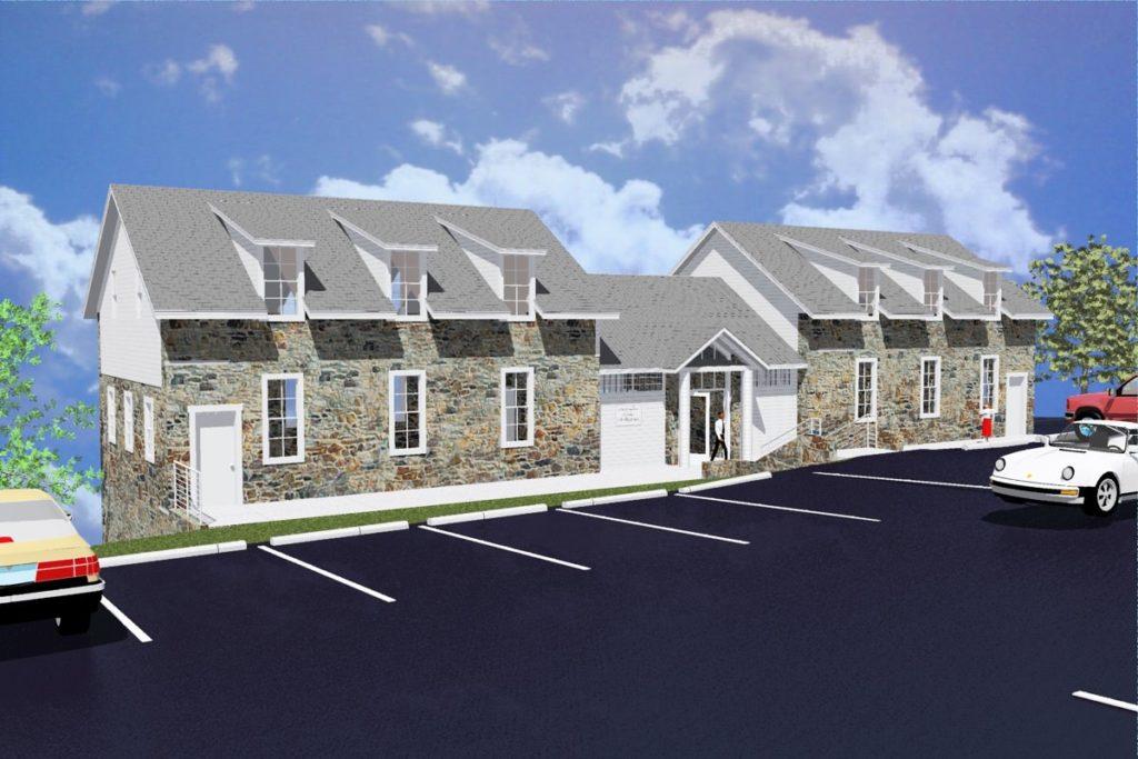 Caron Treatment Centers - Alley Learning Center Parking Lot 1B, Olsen Design Group