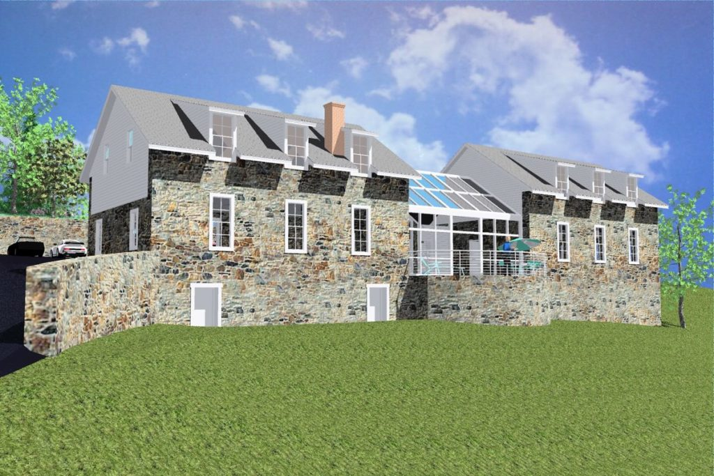Caron Treatment Centers-Alley Learning Center Barn - Final Rendering, Olsen Design Group