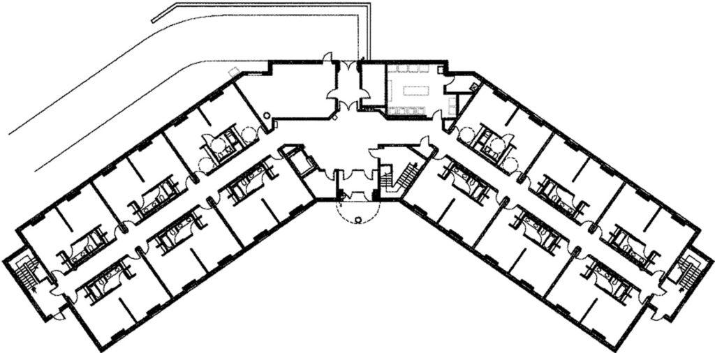 Alvernia University – Clare Hall Floor Plan