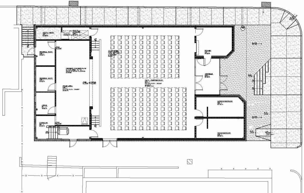 Police Athletic League Floor Plan