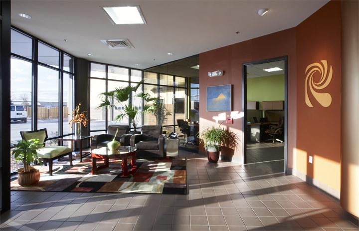 Reading Bakery Systems Lobby, Olsen Design Group Architects