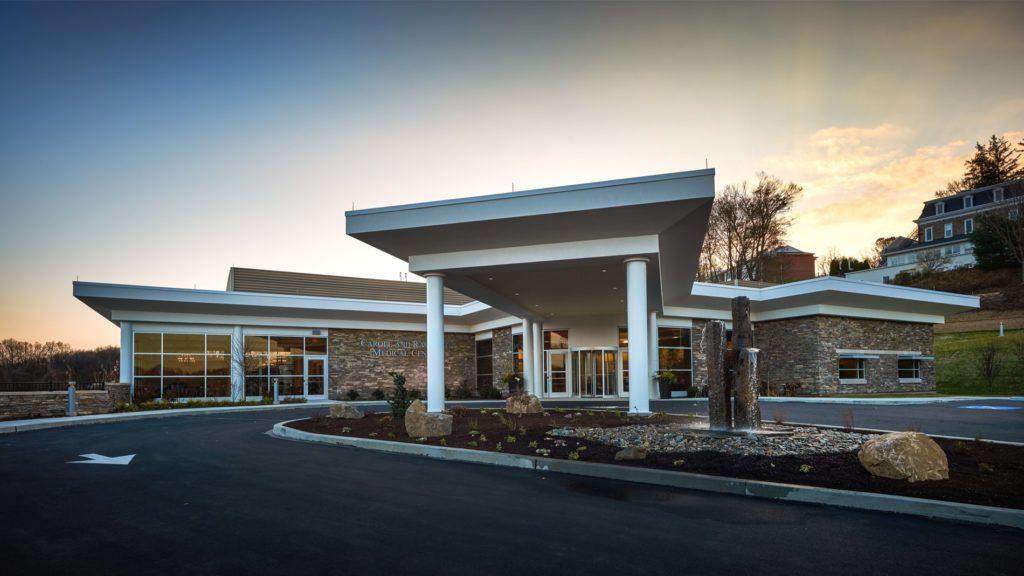 Caron Treatment Centers - Neag Medical Center Exterior, Olsen Design Group