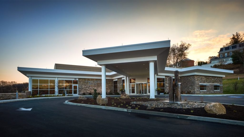 Caron Treatment Centers - Neag Medical Center Exterior, Olsen Design Group