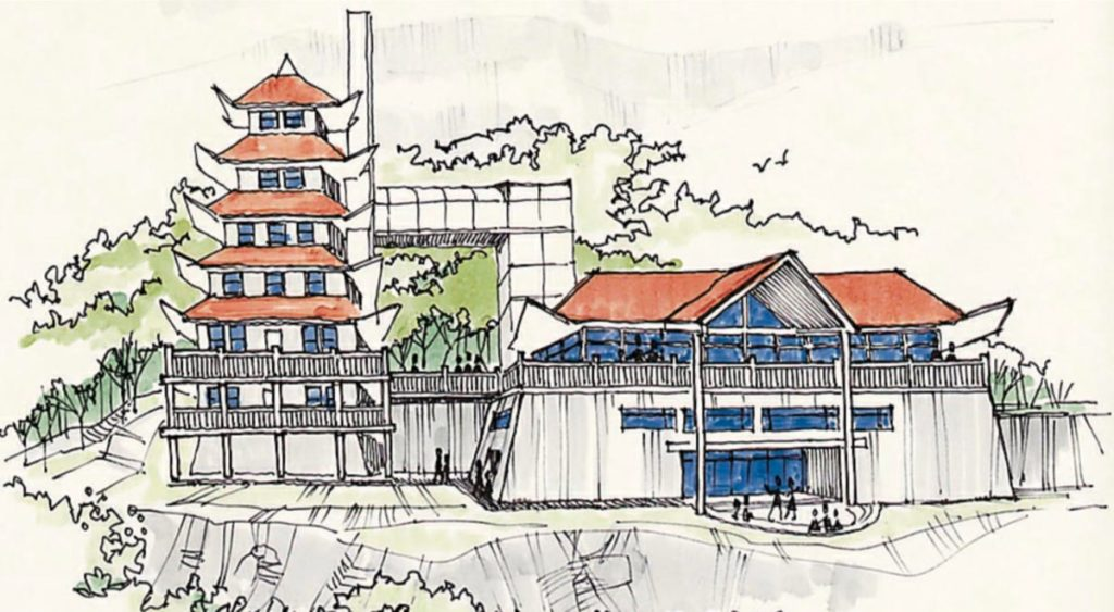 Pagoda - Olsen Design Group Architects