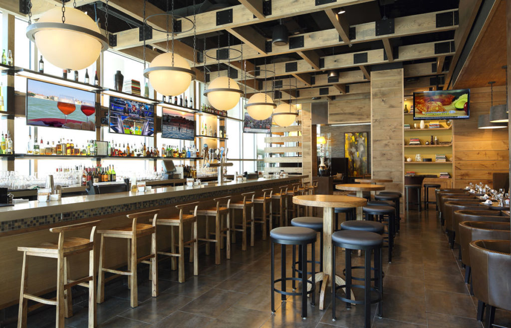 DoubleTree Hotel and Convention Center Bar, Olsen Design Group