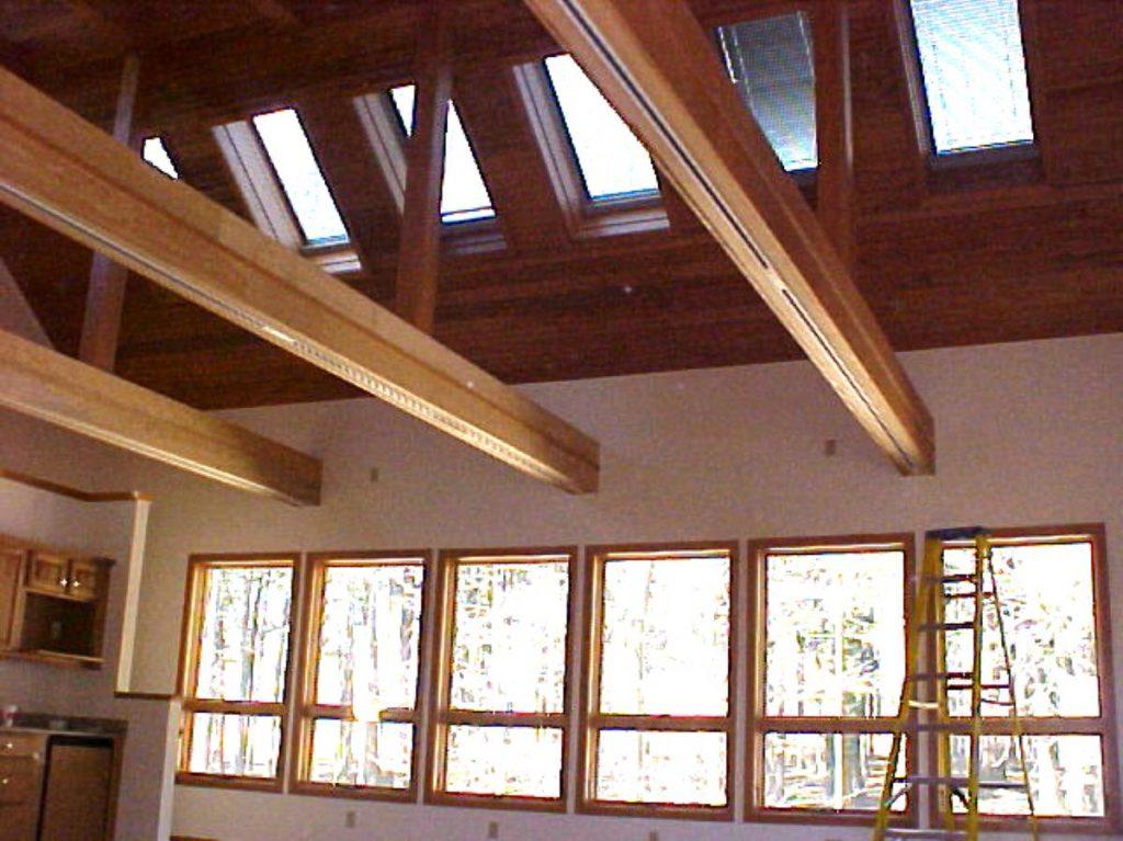 Holleran Residence Interior Window Elevation - Olsen Design Group